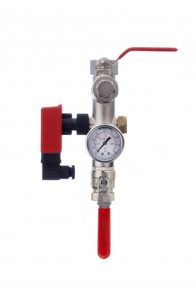 Dual Port Fire Sprinkler Valve Set